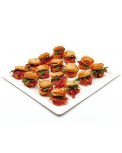 Scone Prosciutto Arugula Platter
