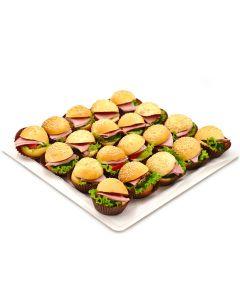 Mini Hamburger Platter