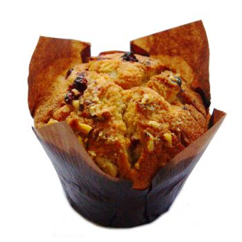 Cranberry & Walnut Muffin