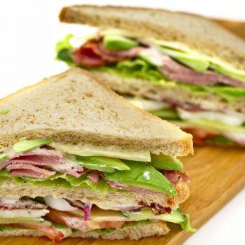 Beef Cobb Sandwich