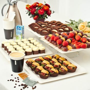 Comfort Tea Catering Set for 20