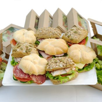 Sandwich & Salad Basic Set for 8