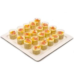 Coconut and Mango Pudding Platter
