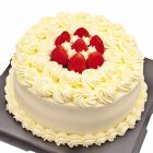 Fresh Fruit Cream Cake 10 Inch