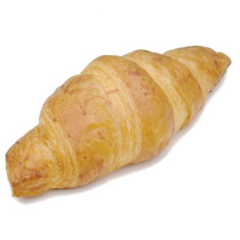 Butter Croissant with Ham and Cheese Filling