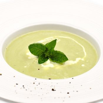 Creamy Courgette Soup