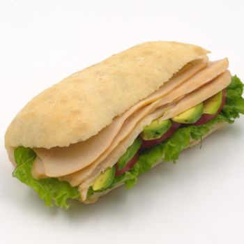 Chicken and Avocado Sandwich