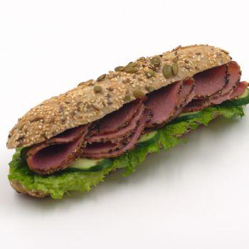 Pastrami Beef Sandwich
