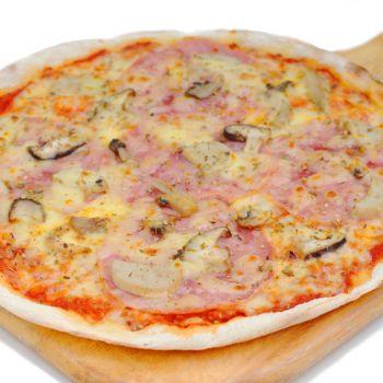 Pizza Ham and Mushroom