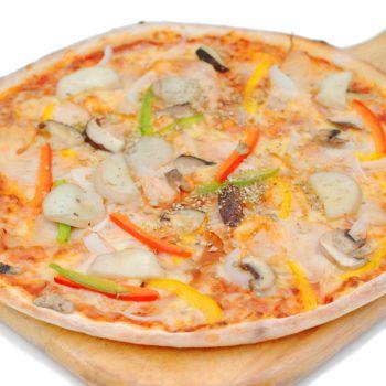 Pizza Chicken Mushroom