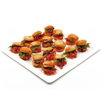 Scone with Prosciutto e Rucola Platter