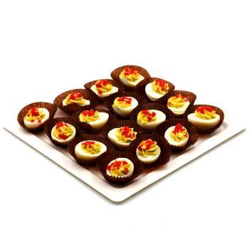 Triple Egg Salad Platter