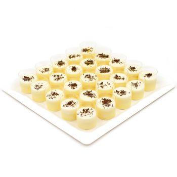 Lemon Orange Pudding Platter