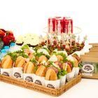 Sandwich & Salad Set for 12