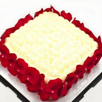 Baileys Rose Cake 10 Inch