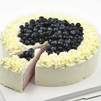 Blueberry Mousse Cake 10 Inch