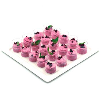 Berry Mousse Cup Platter