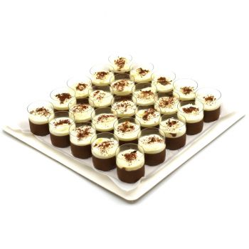 Chocolate Mousse Cup Platter