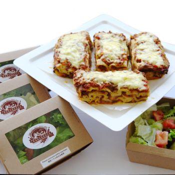 Beef Lasagna Set for 4